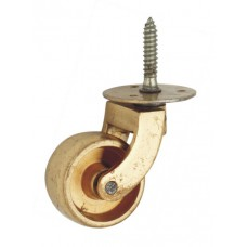 Brass Castor wheel with screw [GMA-2234]