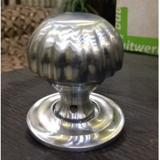 Brass Melon Knob with Brushed Nickel finish [GMA-2570Ni]