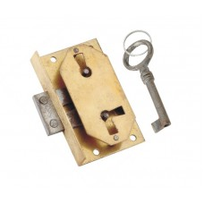 Brass Lock & key [GMA-2653]