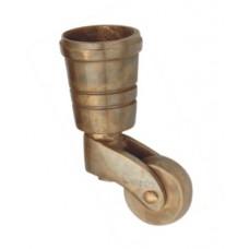 Brass Castor wheel with bucket [GMA-2238]
