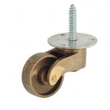 Brass Castor wheel with screw [GMA-2619]