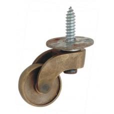 Brass Castor wheel with screw [GMA-2620]