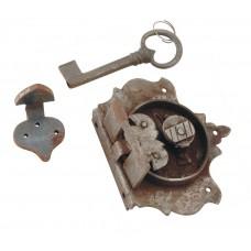 Iron Lock & key [GMA-2666]