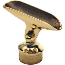 "Brass Adjustable Saddle Post 2"" OD [GM-703]"